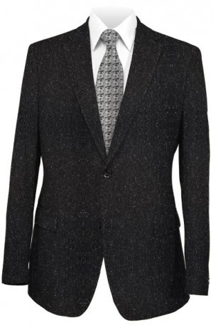 Hugo Boss Black Fleck Flannel Slim Fit Suit #50300524-001