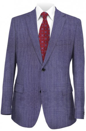Hugo Boss Light Blue Tailored Fit Suit #50300615-421