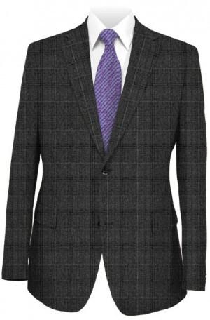 Hugo Boss Gray Windowpane Tailored Fit Sportcoat #50300625-060