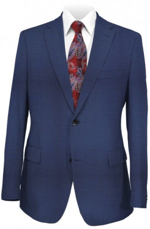 Hugo Boss Blue Slim Fit Suit 50304337-420