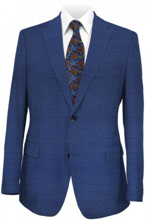 Hugo Boss Blue Pin-Dot Tailored Fit Suit #50311490-420