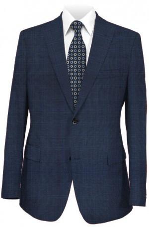 Hugo Boss Navy Windowpane Tailored Fit Suit #50312773-410