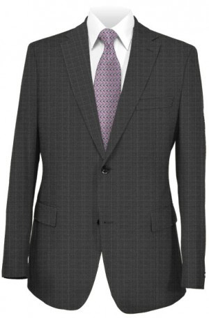 Hugo Boss Gray Pattern Slim Fit Suit #50321156-015