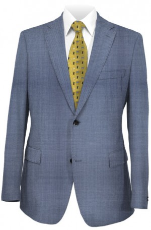 Hugo Boss Blue Tailored Fit Suit #50331989-444