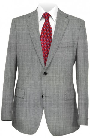 Hugo Boss Light Gray Slim Fit Suit 50383519-010