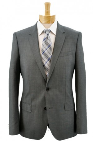 """""""More Than a Basic"""" Gray Slim Fit Suit from Hugo Boss 50384104-021"""