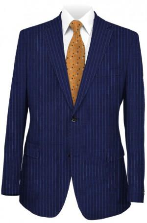 Hugo Boss Blue Pinstripe Slim Fit Suit #50404768-410