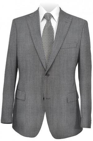 Rubin Gray Sharkskin Slim Fit Suit #51814