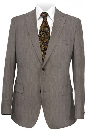 Rubin Brown Fineline Slim Fit Suit #51883