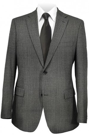 Rubin Slim Fit Gray Fineline Suit 51884