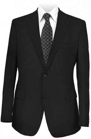 Calvin Klein Black Fineline 'Extreme' Slim Fit Suit #51Z0037