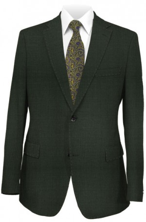 "Calvin Klein Olive ""Extreme"" Slim Fit Suit #51Z0041"
