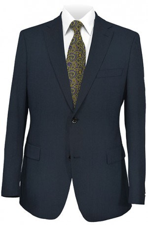 JonesNY Navy Solid Color Suit #52002-2B
