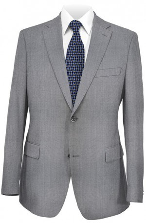 Rubin Silver Gray Gentleman's Cut Suit 52009