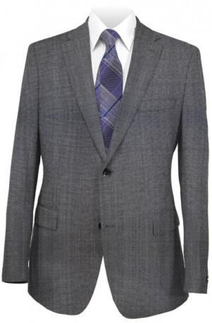 Rubin Medium Gray Slim Fit Suit 52014