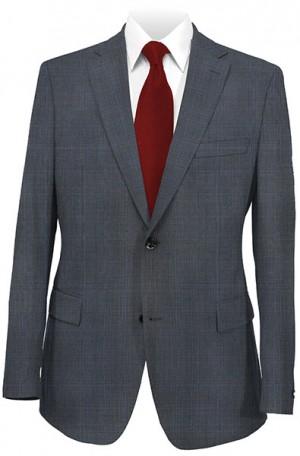 Rubin Blue Pattern Gentleman's Cut Suit #52027