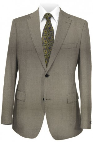 Rubin Taupe Tailored Fit Suit 52163