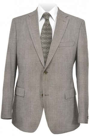 Rubin Tan Stripe Tailored Fit Suit 52333-2B