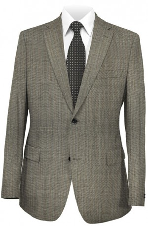 Rubin Gray Stripe Classic Fit Suit 52694