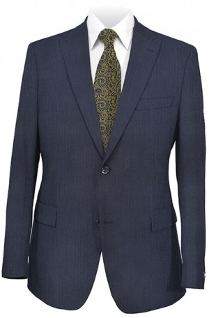 Rubin Navy Stripe Slim Fit Suit #52881