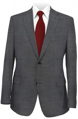 Rubin Charcoal Tailored Fit Suit 52909