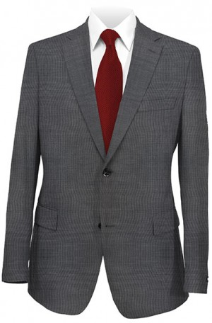 Rubin Charcoal Tailored Fit Suit #52909