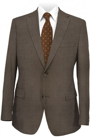 ItalUomo Medium Brown Tailored Fit Suit #53796-2