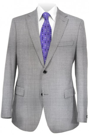 Calvin Klein Silver Gray 'Very Slim Infinite Stretch' Suit #5CW0020