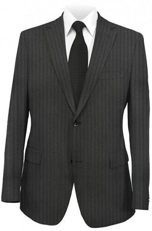 Calvin Klein Black Tone-On-Tone Tailored Fit Suit #5FXL222