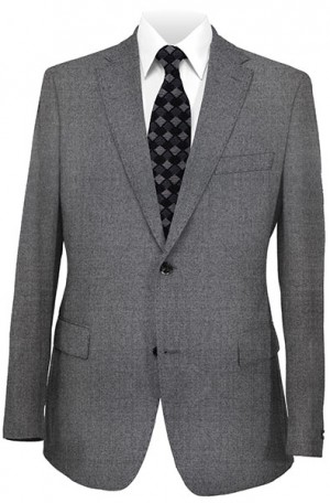 "Calvin Klein Gray ""Extreme"" Slim Fit Suit #5FY0211"