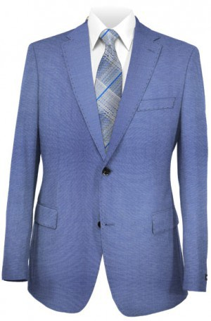 Calvin Klein Light Blue 'X' Slim Fit Suit #5FY0432