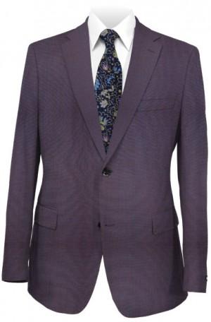 Calvin Klein Iridescent Blue 'Extreme' Slim Fit Suit #5FY0433