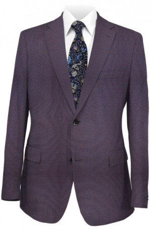 Calvin Klein Iridescent Blue 'Extreme' Slim Fit Suit #5FY0433