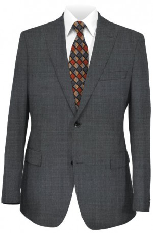 Calvin Klein Gray Tone-on-Tone 'Extreme Slim Fit' Suit #5FY0511