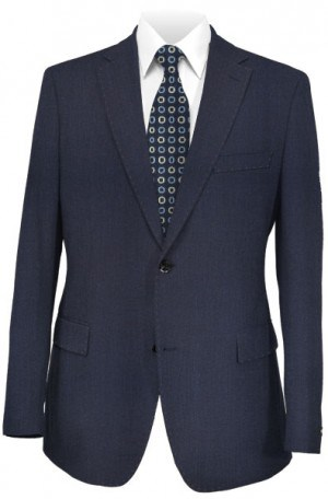 Calvin Klein Bright Navy Micro-Dot Slim Fit Suit #5FY0774