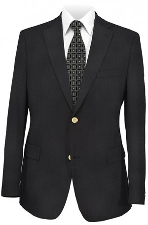 Petrocelli Black Gentelman's Fit Blazer #61003-CV