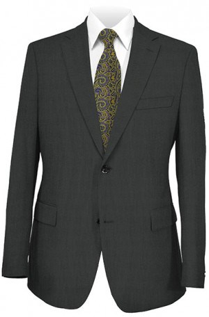 Jack Victor Black Microfiber Gentleman's Fit Sportcoat #612003