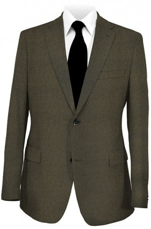 """Jack Victor Dark Olive """"Corduroy"""" Gentleman's Fit Sportcoat #612124"""