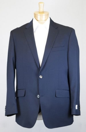 Petrocelli Navy Traveler Gentleman's Fit Blazer #62000