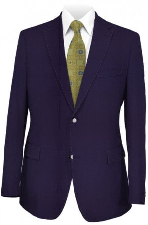 Petrocelli Bright Navy Textured Blazer #62500