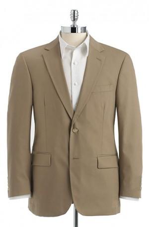 Haspel Khaki Poplin Suit 7010-CV