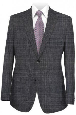 Petrocelli Black Dot Gentleman's Cut Sportcoat #70113