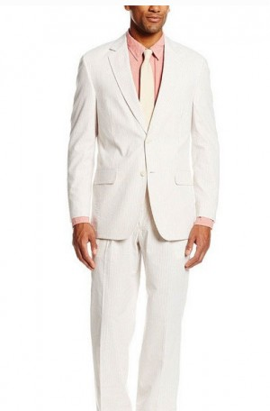 "Palm Beach ""Oyster"" Poplin Summer Suit #7012"