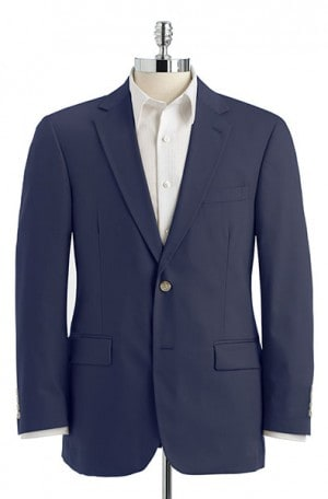 Palm Beach Blue Poplin Suit #7027FF-IV