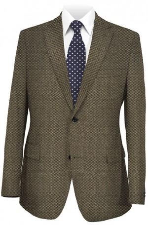 Abboud Gray Tick Weave Gentleman's Fit Sportcoat 735862.