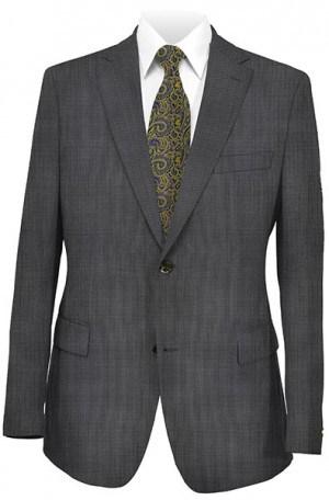 Yuste Gray Tick Weave Suit #752L
