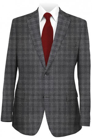 Calvin Klein Gray Pattern Slim Fit Sportcoat #7JX0554