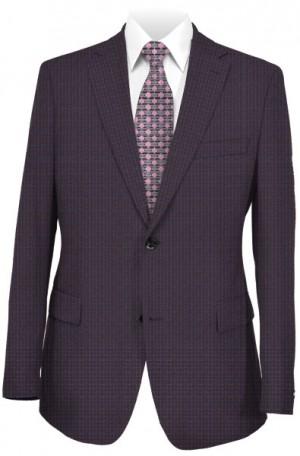Calvin Klein Burgundy Tailored Fit Sportcoat #7JX1264