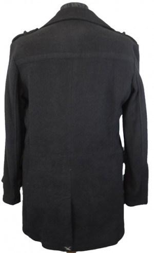Calvin Klein Black Pea Coat #7OU000