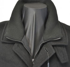 Calvin Klein Black Car Coat #7OUM000